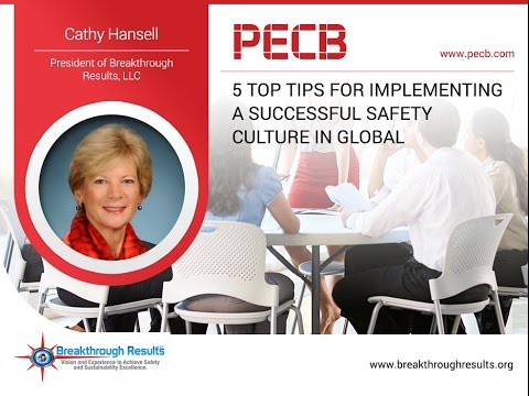 5 Top Tips for Implementing a Successful Safety Culture in Global Organizations