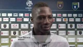 Interview et Présentation Officielle de Yaya Banana à Sochaux