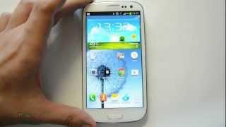 Обзор Samsung Galaxy S 3 I9300: дизайн, интерфейс Nature UX (review)