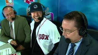 TB@BOS: Donnie Wahlberg joins the broadcast in 4th Video