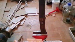 нож из обломка пилы быстрорез