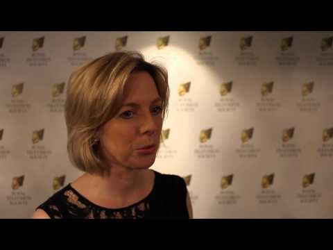 Hazel Irvine at the Royal Television Society Awards 2013 - 2014