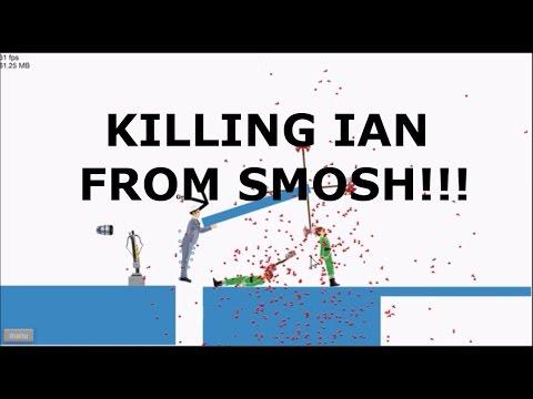HAPPY WHEELS- KILLING IAN FROM SMOSH!!!