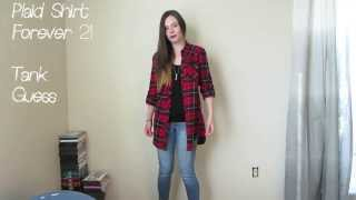 OOTD 2/19/14: Plaid Shirt & Studded Boots! Thumbnail