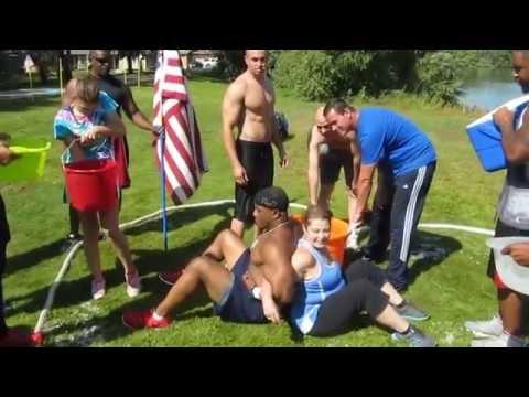 WWE Ice Bucket Challenge Marty Wright Boogeyman