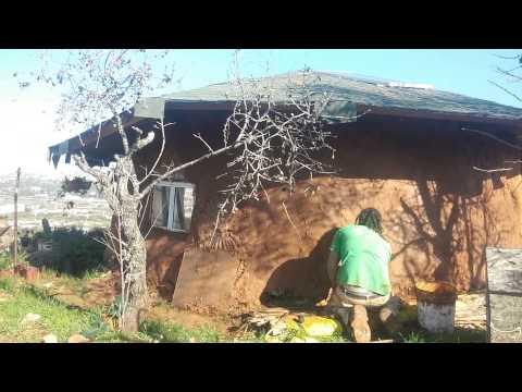 Mud building tifzi eco farm israel