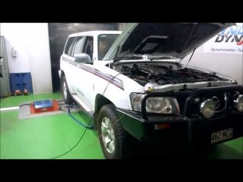 2009 Nissan Patrol 30l Common Rail Diesel Smart Dyno Run Youtube