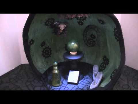 Elphaba- Wicked Mixed Media Art Doll.wmv
