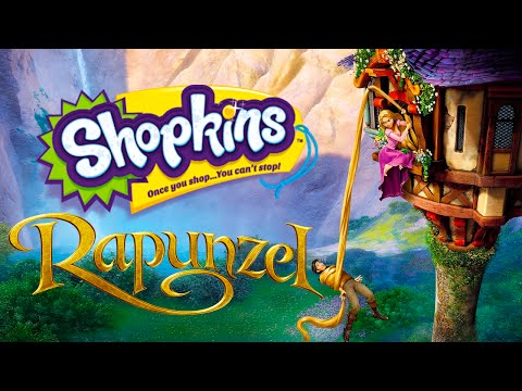 RAPUNZEL Shopkins Fairy Tales Story