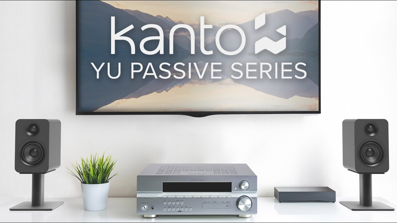 Kanto YU Passive 4 + YU Passive 5.25 Speakers Review and Comparison