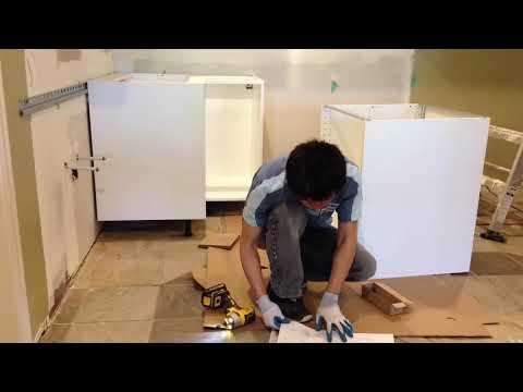 IKEA Kitchen Cabinets Installation