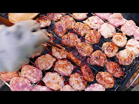 ẩm thực thiên đường Việt Nam - Banh Mi Nem Nuong mon ăn đường phố