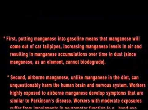 MMT in Canadian gas