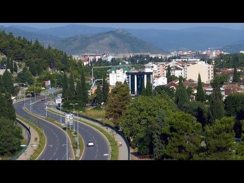 MONTENEGRO - PODGORICA  Подгорица - Crna Gora - HD