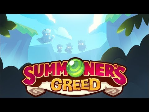 Summoner's Greed Gameplay - Farming JOINT REVENGE by using MACRO.