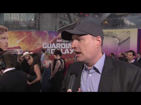 Guardians of the Galaxy Vol. 2: Producer Kevin Feige Red Carpet Movie Premiere Interview