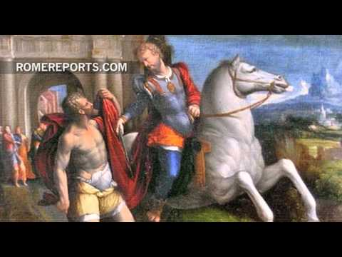 St. Martin of Tours, according to Benedict XVI and Pope Francis