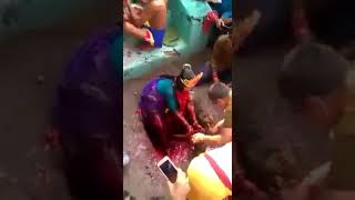 Woman Killing Animals Drinking Their Blood | Blood Rituals