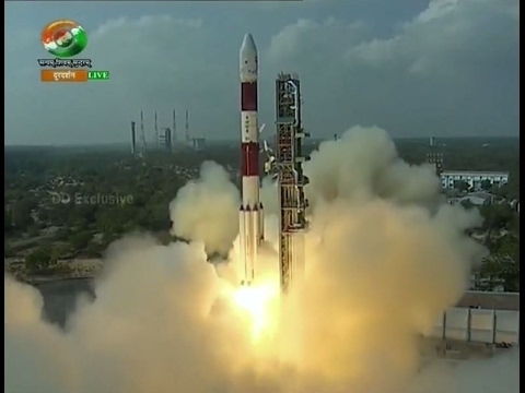 ISRO  Breaks Record by 104 Nano Satellites in Orbit - PSLV C37/CARTOSAT 2, Aerospace FULL HD VIDEO