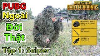 Phim PUBG Ngoài Đời Thật - Tập 1: Lính Bắn Tỉa Siêu Cấp - Sniper AWM | Lâm Vlog