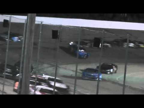 Madison International Speedway restart check-up and wreck! 2014 Triple Crown Series
