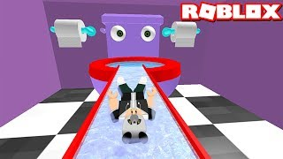 Can you cross the Monster Toilet and The Roads and Go To The End? - Roblox