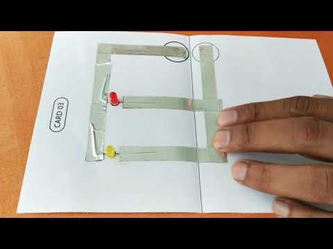 DIY Paper Circuit - Tutorial 03