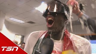 Siakam: This means everything, it's what you work for