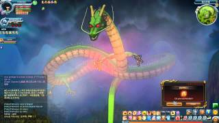 Dragon Ball Online HD || Invocando a Shenlong - Deseo para el Super Saiyan