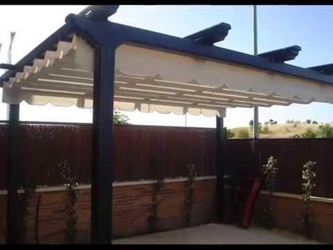 Fabrica de toldos persianas y pergolas en granada alhambra youtube - Toldos para patios interiores ...