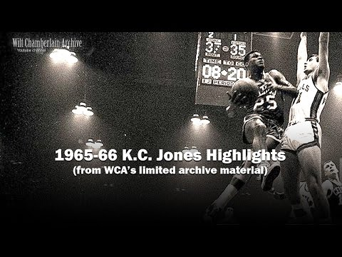 K.C. Jones 1966 NBA Playoffs and Season Clips