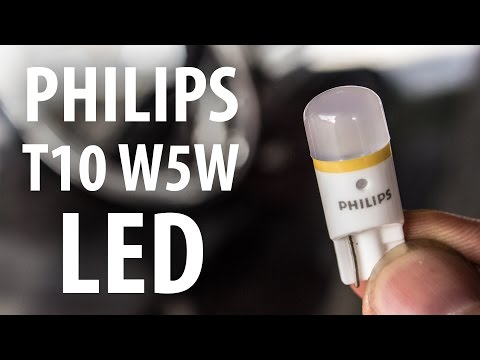 Review: Philips X-tremeVision T10/W5W white 4000K LEDs