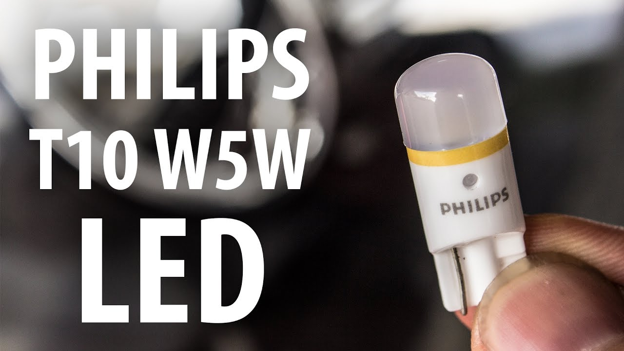 Review Philips X Tremevision T10 W5w White 4000k Leds Youtube