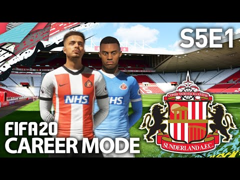 WE HAVE NEW KITS! | SUNDERLAND RTG CAREER MODE S5E1