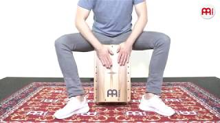 MEINL Percussion - Artisan Edition Cajon - Fandango Line - Indian Heartwood - AEFLIH