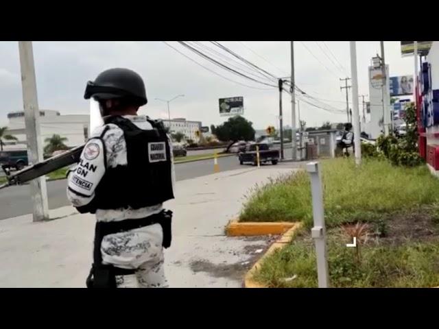 Guardia Nacional vigila instalaciones de gasera en Querétaro