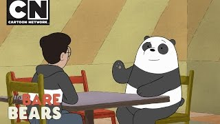 We Bare Bears | Panda's New Friend | Cartoon Network