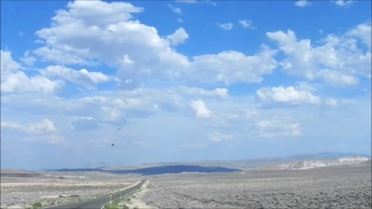 Driving in Sheldon National Wildlife Refuge Nevada State Route 140
