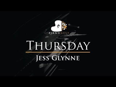 Jess Glynne - Thursday - Piano Karaoke / Sing Along Cover With Lyrics