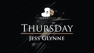 Jess Glynne - Thursday - Piano Karaoke / Sing Along Cover with Lyrics Video