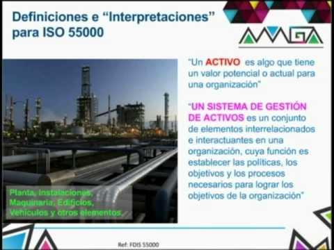 Gestión de activos, ISO 55000 WEBINAR