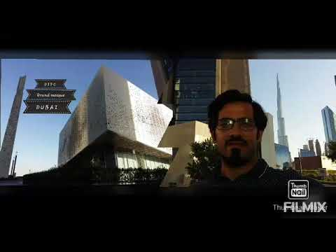 DIFC Grand Mosque | Gate avenue | Iconic Mosque | Dubai | U.A.E.