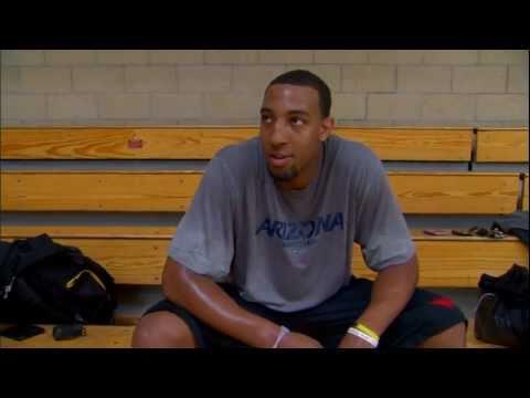 Derrick Williams Prepares for the NBA Draft