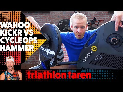 CYCLEOPS HAMMER vs WAHOO KICKR Smart Indoor Bike Trainer