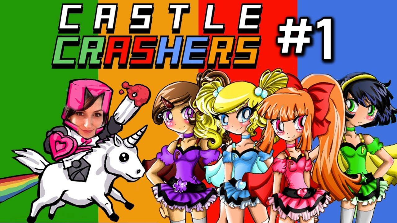 crasher naked Castle girls