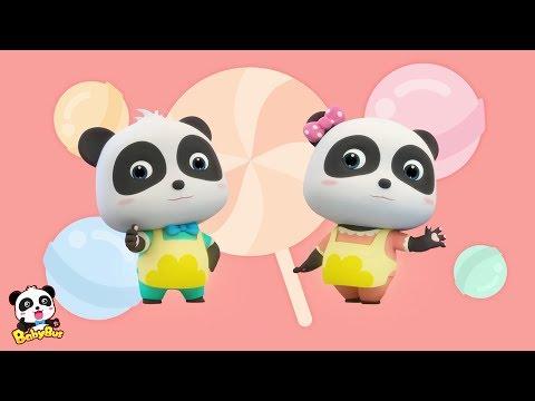 Baby Panda Makes Colorful Candies | Dessert Shop | Panda Chef | BabyBus