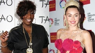 Missy Elliott DISSES Miley Cyrus In New 'WTF' Song?