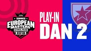 EU Masters Sezona 2 - CZV vs Szata Maga | CZV vs Vodafone Giants - Play-In Dan 2