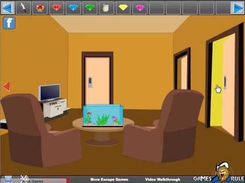 Apartment living room escape video walkthrough youtube for Small room escape 9 walkthrough
