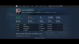 Как узнать сколько стоит твой аккаунт Steam !